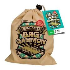Bag Games: Bag Gammon Backgammon in a Bag Travel Game Stocking Filler