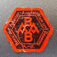 Siegelmarke Vignette BANK DER ARBEITER-ANGESTELLTEN UND BEAMTEN A. G. (8139-2)