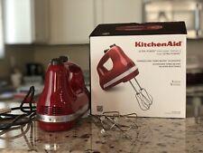 KitchenAid Ultra Power 5-Speed Hand Mixer - Empire Red (KHM512ER)