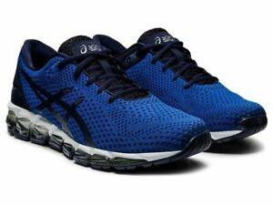 NIB NEW Men's Asics GEL-QUANTUM 360 5 KNIT Shoes 1021A413.400 Blue