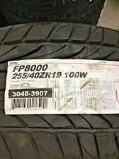 2 New 255 40 19 Ohtsu FP8000 Tires