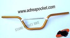 Guidon Aluminium doré Dirt Bike / Pit Bike