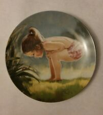 """""""Small Wonder"""" 4th Plate in Wonder of Childhood Collection by Donald Zolan"""