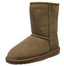 EMU AUSTRALIA AUTH Women's Brown Sheepskin Boots Size 6