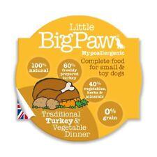 Little Big Paw Wet Dog Food, Traditional Turkey & Veg Dinner 8 x 85g