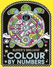 Buster's Brilliant Colour by Numbers,Twomey, Emily Golden,Very Good Book mon0000