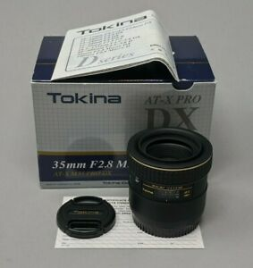 Tokina AT-X Pro 35mm f/2.8 DX AF Macro Lens for Canon - Excellent!