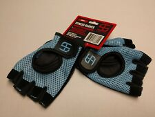 NWT SHRED & TONE Fitness Gloves! Size Small 1/2 finger