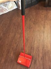 Leifheit Pionier 11100 Manual Carpet Sweeper with Natural Brushes Red German