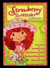 Strawberry Shortcake Collection  of 5 Different DVDs  in  NEW  Wrapped Gift Set