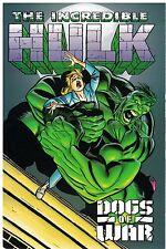 Incredible Hulk Dogs of War  SC  New  OOP  30% OFF