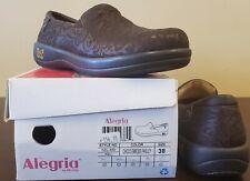 NEW! Alegria Keli Choco Emboss Paisley Size 38 (US 8 - 8.5)