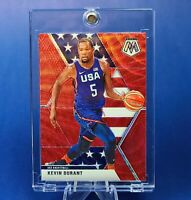 Kevin Durant NETS RED USA EXCLUSIVE INSERT CARD - INVESTMENT - UV CASE ***MINT**