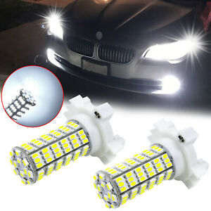 Bright White PY24W 5200s 120-SMD LED Turn Signal Lights Bulbs For BMW Land Rover