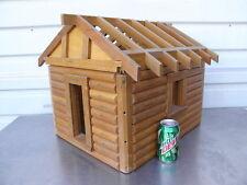 A Log Cabin Home Salesman Sample Model Kalispell MT Lincoln Logs Doll House T
