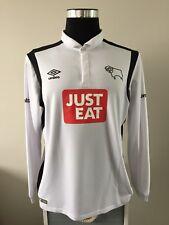 Derby County Hogar Camiseta De Fútbol Jersey Manga Larga 2016/17 (L)