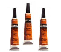 3 x Liquid Gold Glue 1/2 oz Hair Extension/Bond/Weave/Weft suitable for all hair