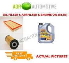 DIESEL OIL AIR FILTER KIT + LL 5W30 OIL FOR VOLKSWAGEN BORA 1.9 101 BHP 2000-05