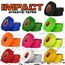 """IMPACT Athletic Tape 3 ROLLS (1"""" x 25 yds) 50/50 Poly-Cotton Hockey Lacrosse"""
