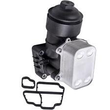 OIL FILTER HOUSING & COOLER for AUDI A3 A4 A5 VW CC Golf Passat 1.6 2.0 TDI