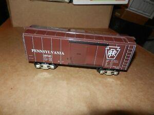 MARX  Pennsylvania Box Car,  Car# 10742, New Production, No OB, 8 Wheel