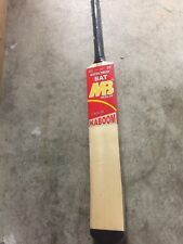 "MB Malik Tape & Tennis Ball Cricket Bat Light Weight ""Kaboom"" Brand New 2019"