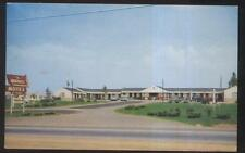 Postcard MARYVILLE Tennessee/TN  Tourist Motel Motor Court view 1940's