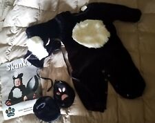 EUC TOM ARMA Discontinued DELUXE SKUNK Complete Halloween COSTUME TODDLER 2T