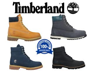 Scarpe Timberland 6 Inch Stivali Impermeabili Uomo 100% ORIGINALI - TB010061713