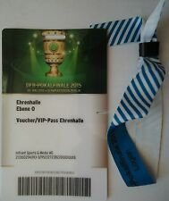 VIP Band Logen & Pass Pokal Finale 2015 Dortmund - Wolfsburg