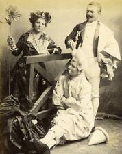 Sunday Family Funny Scene Meudon old Photo 1900