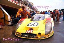 Joest & weber & casoni porsche 908 lh le mans 1972 photographie 2