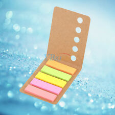 5 Colors 24 Pages Sticky Memo Note Desk Organizing Gadget Set Index Bookmark Tab
