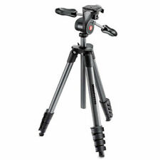 Manfrotto Compact Advanced Pan/Tilt Head Tripod - Black