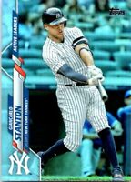 2020 Topps Update Giancarlo Stanton Rainbow Foil U-288 Active Leaders Yankees