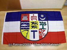 Fahnen Flagge Schleswig Holstein Angeln - 90 x 150 cm