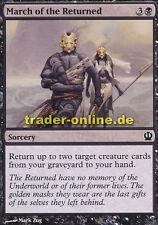 4x March of the Returned (Aufmarsch der Wiedergekehrten) Theros Magic