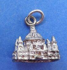 Vintage St Pauls Catedral Pulsera de plata esterlina encanto