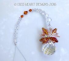 m/w Swarovski 20mm Mozart Ball Pineapple COPPER Suncatcher Lilli Heart Designs