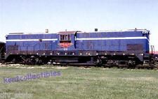 Minneapolis, Northfield & Southern Baldwin DT66-2000 railroad train postcard