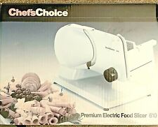 New Chef's Choice Premium Electric Food Slicer 610