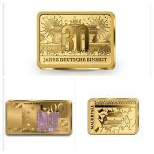 3 X Goldbarren 999er Anlage