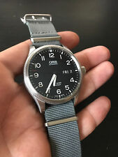 45mm ORIS Big Crown ProPilot Day Date + Box, Manual, Links, Bracelet + Gray NATO