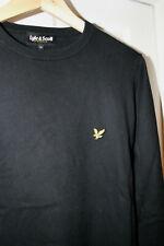 Mens LYLE & SCOTT Jumper / Jacket. Black. Size M