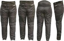 Pantalone Moto Cordura NERO3131 PROTEZIONI-CE Fodera Mashe