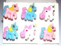 MY LITTLE PONY CHARACTERS Push Pins Handmade Decorative 6pc Set SALE