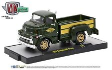 1:64 M2 Machines *AUTO-TRUCKS R42* Green 1958 Dodge COE Pickup Truck NIB!
