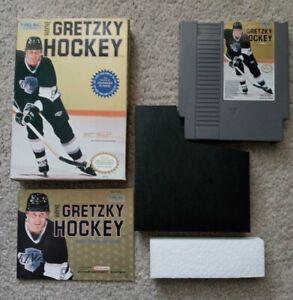 Wayne Gretzky Hockey (Nintendo  NES) Complete in Box CIB - FREE TRACKED SHIPPING