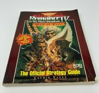 Strategy Guide Romance of the Three Kingdoms IV Wall of Fire Sega Saturn SNES PC
