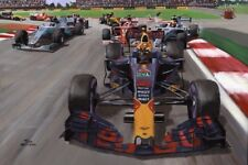 Paper print Max Verstappen snatches the lead in the Mexican GP Nagtegaal (OE)